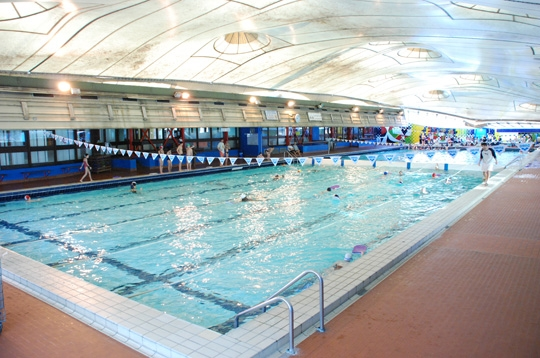 Piscines for Piscine georges hermant